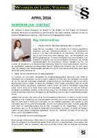 WIL Newsletter April2016