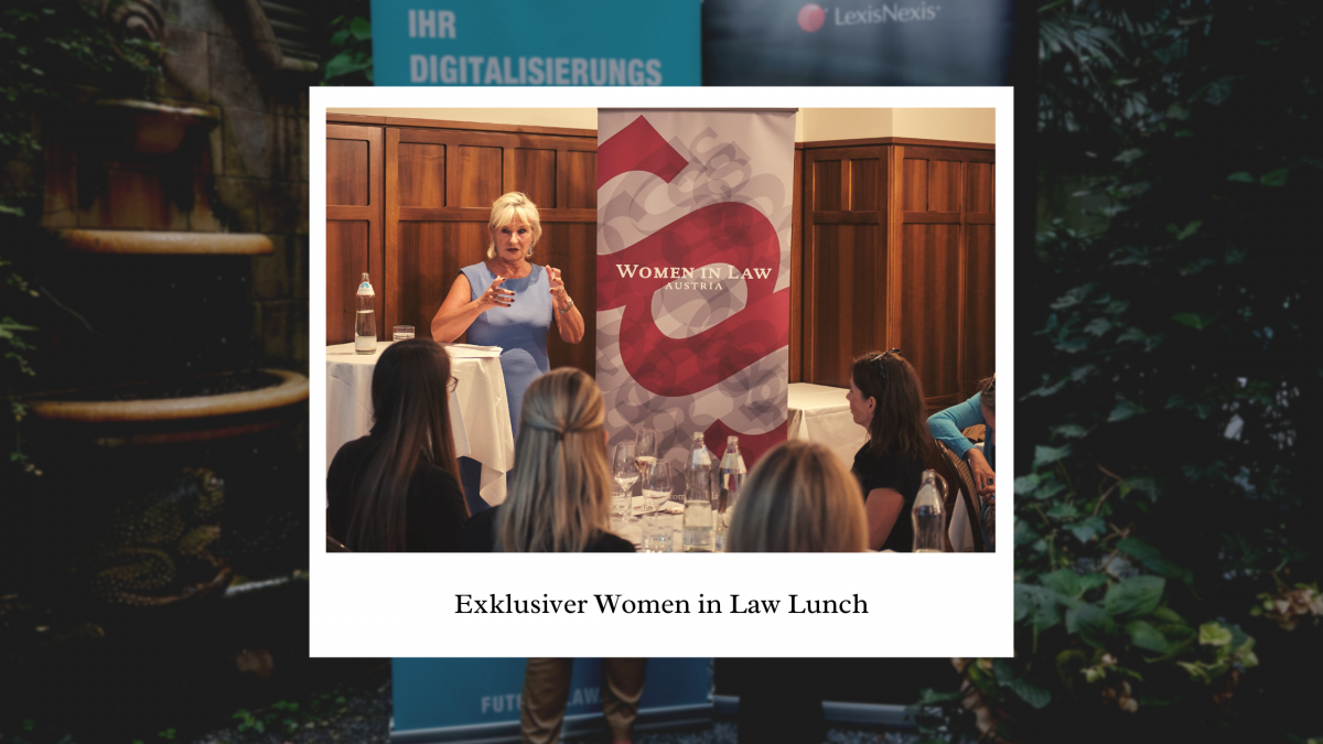 Exklusiver Women in Law Lunch 2021